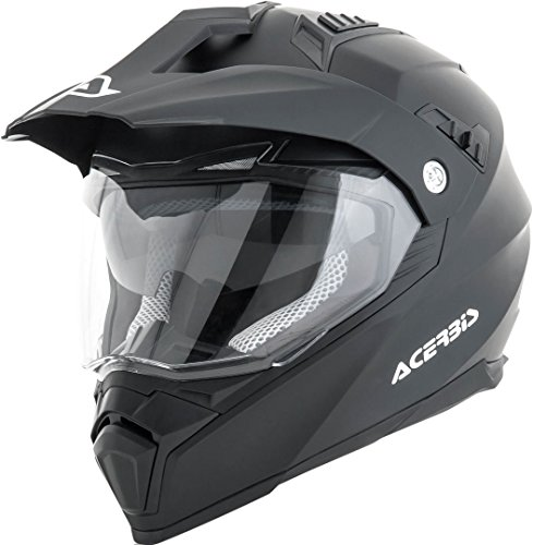 ACERBIS - Casco Flip FS-606 - Color negro - Talla 2XL