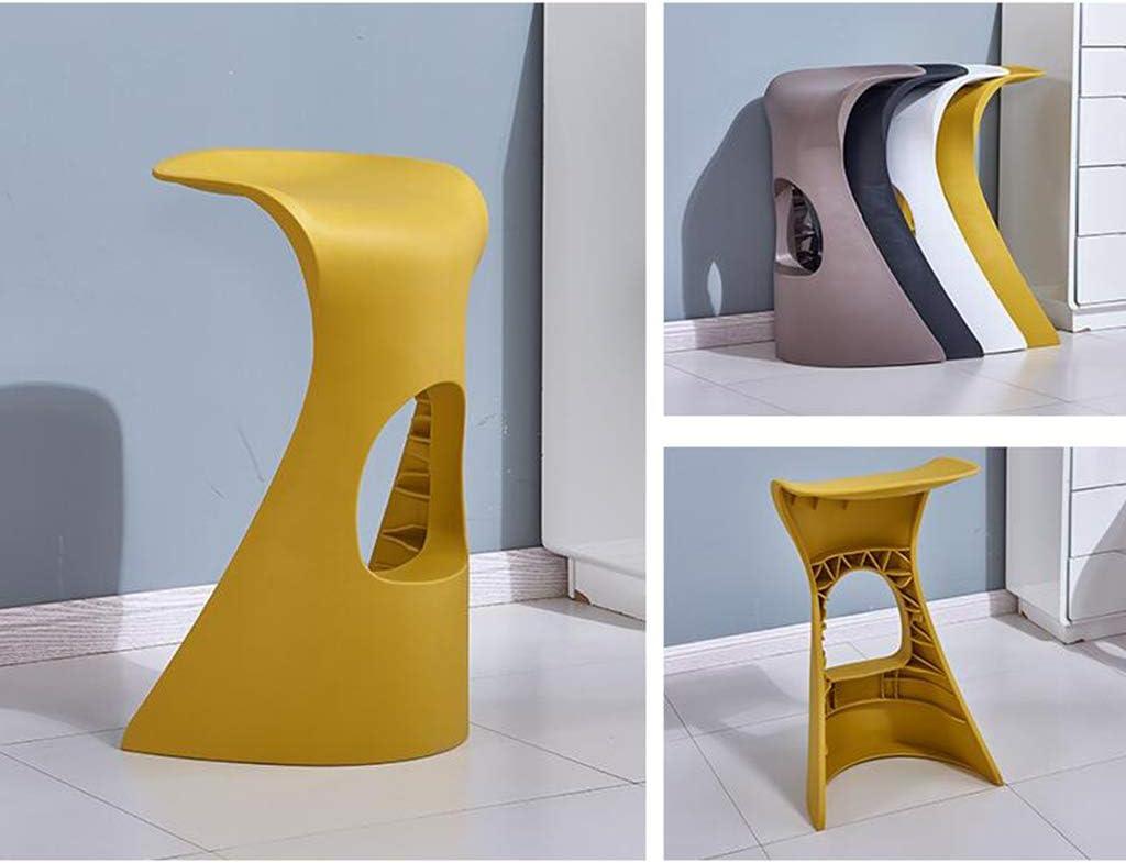 LAOMAO Chaises Tabouret de Bar, Chaise Minimaliste Moderne de personnalité de Barre (Color : Black) Black