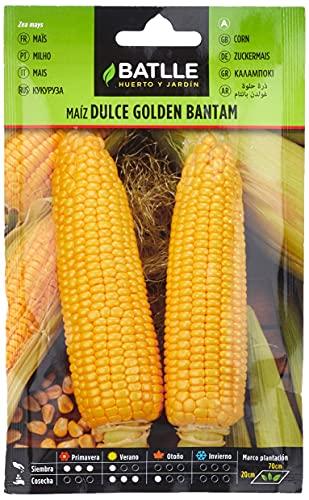 Semillas Hortícolas - Maíz dulce Golden Bantam - Batlle