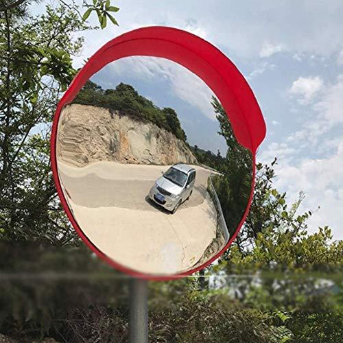 HQY Outdoor Traffic Hoek Lens, Beveiligingsspiegel Convex Groothoek Lens Parcel Hoek Monitoring Hoek Spiegel, Blind Spot Panorama Convex Spiegel, Winkelcentrum, Garage, Straat, Ziekenhuis 45Cm, 60C 60cm