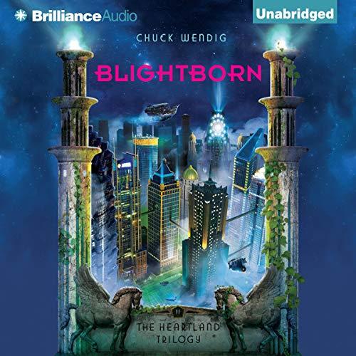 Blightborn audiobook cover art