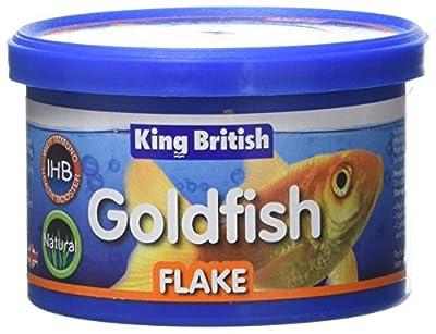 King British Goldfish Flake Food, 12 g by Beaphar Uk Ltd