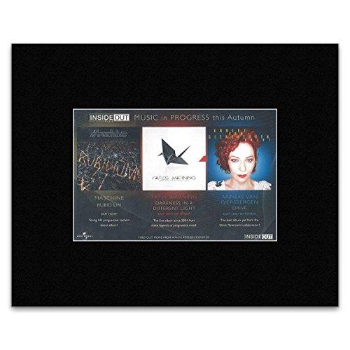Preisvergleich Produktbild Stick It On Your Wall Mini-Poster,  Motiv Inside Out Music,  14 x 21 cm