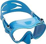 Cressi Unisex Tauchmaske F1, blau, one size, ZDN281020