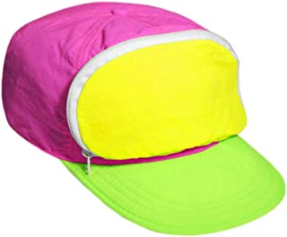 0722324959f73 Cap-sac Fanny Pack hat for Your Head - Nylon Cap with Zipper Pocket and