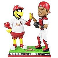 FOCO Yadier Molina St. Louis Cardinals High Fiviing Mascot Bobblehead MLB