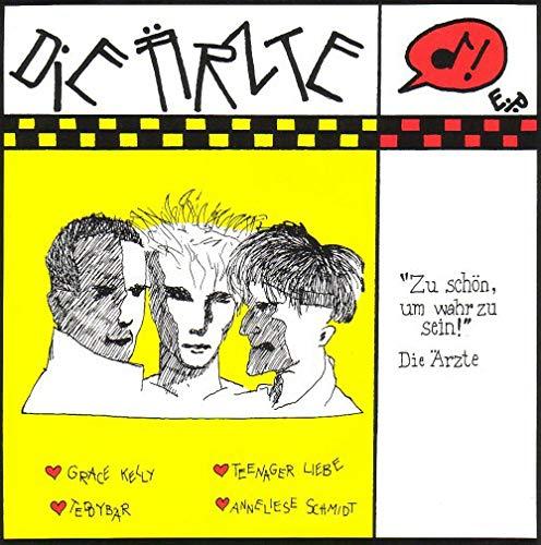 """Die Ärzte - Zu schön um wahr zu sein /Vinyl, 7"""", EP/ 1983/Schnick-Schnack-Tonträger – SS 003, EFA – 04203-01"""