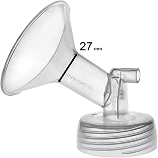 Maymom Wide Neck Pump Part for Spectra S1 Spectra S2 Spectra 9 Plus Breastpump; Incl Wide Mouth Flange (One flange-27mm Flange);Not Original Spectra Flange; Not Original Spectra Baby USA Parts