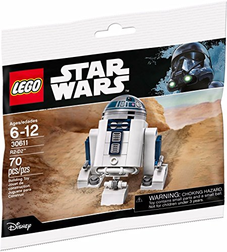 LEGO Star Wars R2-D2 30611 Rare 2017 - Bolsa de plstico sellada
