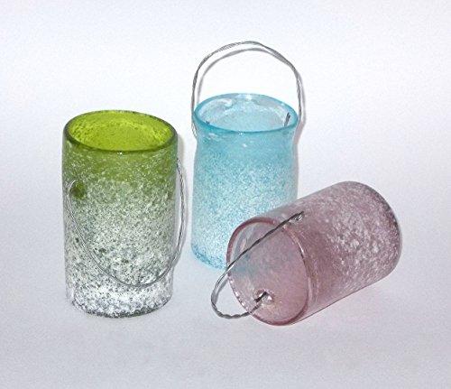 PTMD Windlicht 'Milly' aus Glas 10 cm 3er-Set