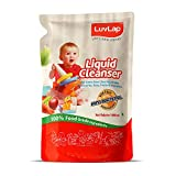 LuvLap Liquid Cleanser Refill, Anti-Bacterial, Food Grade, For Baby Bottles, Accessories and Vegetables