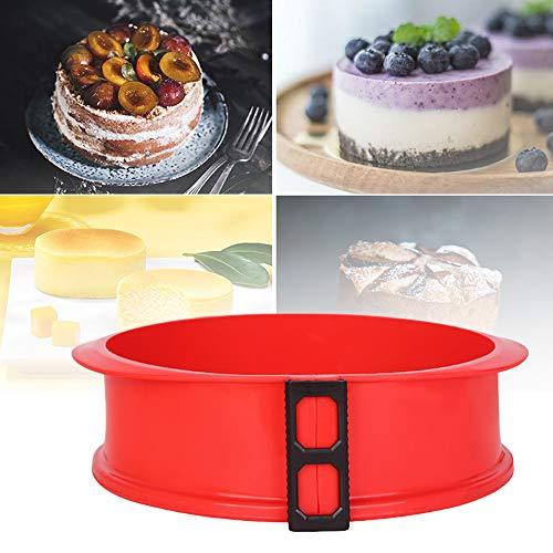 3D weiche Silikon Springform Pfanne mit Glasboden Sugarcraft Fondant Kuchen Schokolade Muffinform Backform Gebäckform Diy Kuchenform