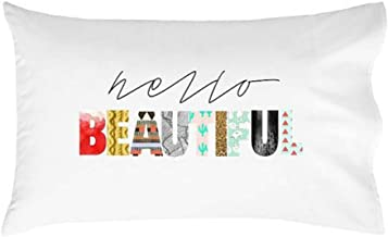 """Oh, Susannah Hello Beautiful Pillow Case Couples Wedding for Her Mom (One 20x30"""" Standard/Queen Size Pillow Case) I Love You Girlfriend"""