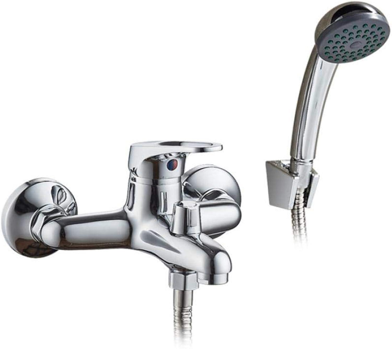 Wasserhahn Badewanne wasserhahn dusche 1 satz bad armatur verchromt dusche wasserhahn badewanne wasserhhne messing kopf auslauf rohr