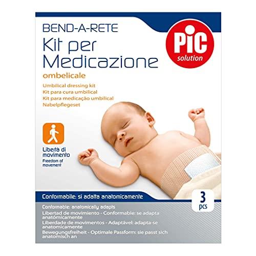 Pic Kit Medicazione Ombelicale, 1 confezione da 3 pezzi