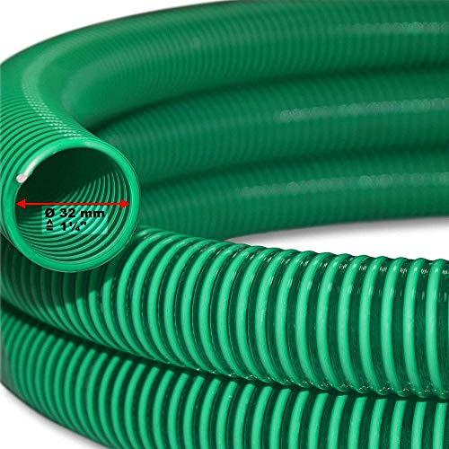 WXG Manguera de succión de 5 m Manguera de presión Manguera Espiral de 32 mm (1 1/4') de Agua