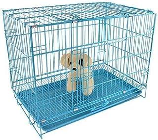 PSK 36-inch Metal Dog Cage (Blue, Large)