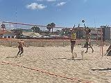 Set portátil vóley playa con red de Competición