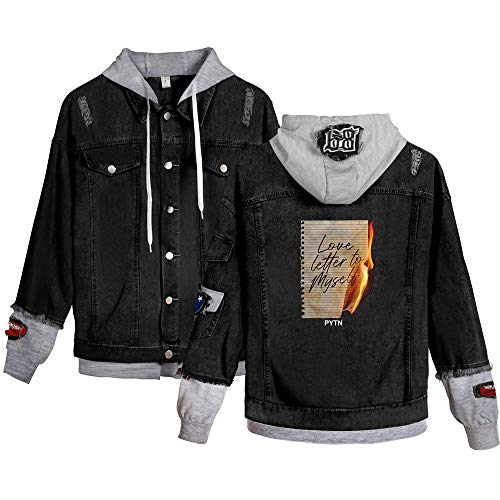 Landove Payton Moormeier Spijkerjas Unisex Denim Jacket Hoodie