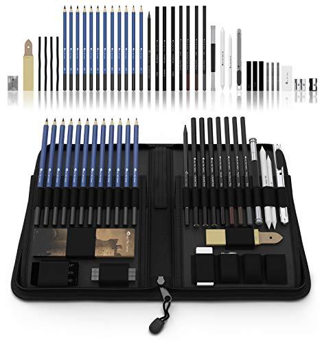 CASTLE Art Graphite Drawing Pencils Kit