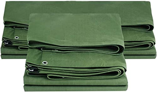 Bache épaissir Multifonction Extérieur Imperméable à l'eau écran Solaire Ombre Toile Résistante à l'usure Plusieurs Tailles Peuvent être Personnalisées GMING (Couleur   Vert, Taille   3x4M)