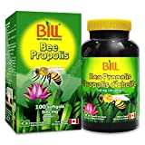 Bill Natural Sources Bee Propolis 500mg, 100 capsules