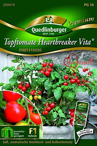 Topf-Tomate, Heartbreaker Vita Quedlinburger Saatgut Samen 290419