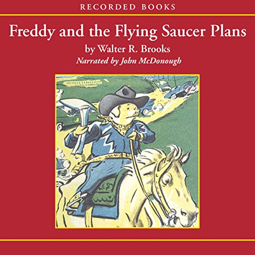 Freddy and the Flying Saucer Plans audiobook cover art