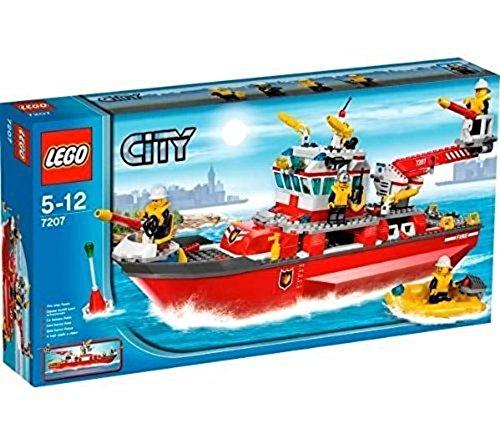 LEGO City 7207 - Feuerwehrschiff