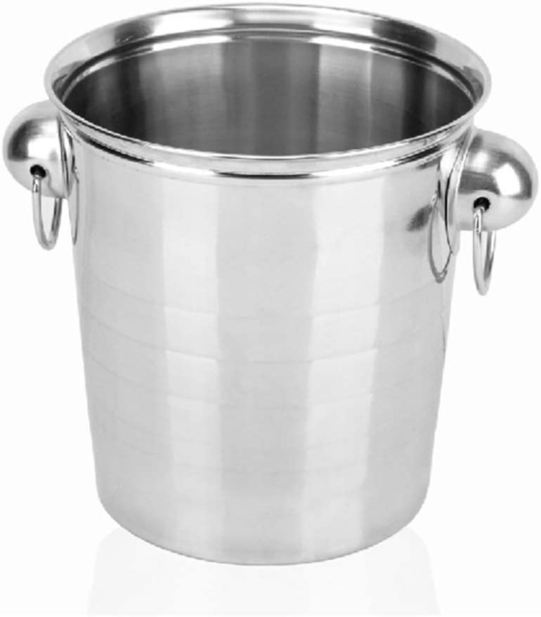 WJCCY Large Ice Bucket Stainless Quantity limited Steel Champagne Bucke Max 58% OFF Cheap