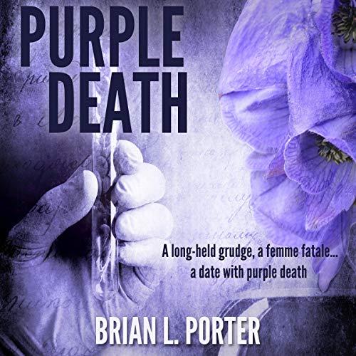 Purple Death audiobook cover art