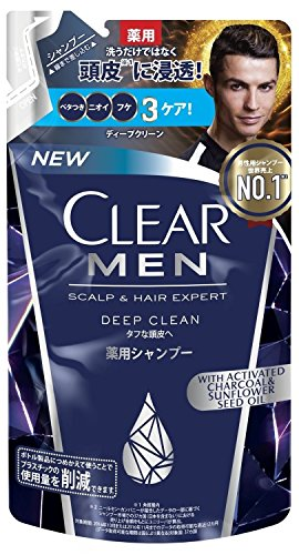 CLEAR for men(クリア フォー メン) ディープクリーン 薬用シャンプー