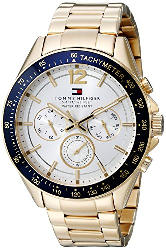 Tommy Hilfiger Analog Silver Dial Men's Watch - NATH1791121J