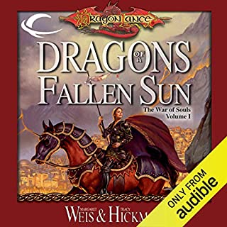 Dragons of a Fallen Sun audiobook cover art