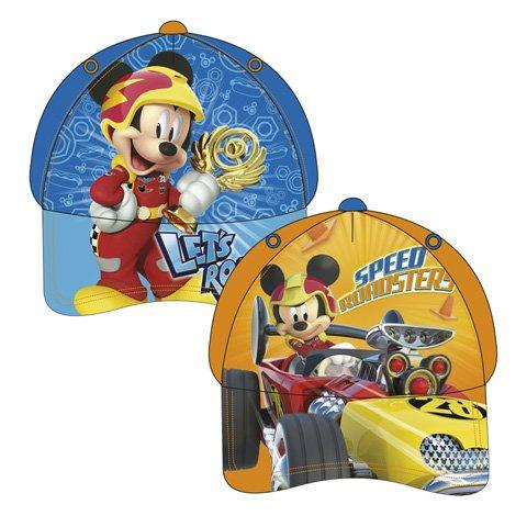 Micky Maus AUSWAHL Baseball Cap Kappe Schirmmütze Kinderbaseballcap Mickey Maus (Blau)
