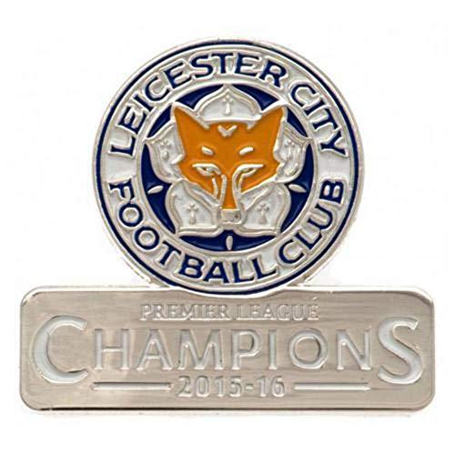 Leicester City F.C. Distintivo Campioni Merchandise Ufficiale