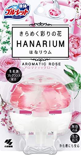 液体ブルーレットおくだけ きらめく彩りの花 はなリウム トイレタンク芳香洗浄剤 本体 アロマティックローズの香り 70ml