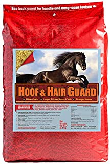 Horse Guard HOOF & HAIR GUARD EQUINE HOOF SUPPLEMENT AND EQUINE COAT SUPPLEMENT WITH AMINO ACIDS, BIOTIN, METHIONINE & SOY...