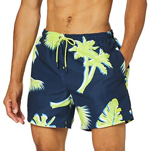 BOSS Piranha Pantalones Cortos, Abrir Blue461, L para Hombre