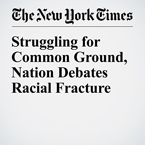 Struggling for Common Ground, Nation Debates Racial Fracture audiobook cover art