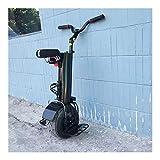 GJZhuan 500W Électrique Monocycle, Une Roue Auto Équilibrage Scooters 60V Portable Intelligent Électrique Monocycle Scooter (Size : 30KM)