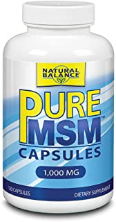 Natural Balance Pure MSM Capsules 120 Count
