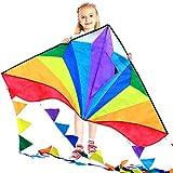 Best Kite Kit For Kids - thecolorfullife Best Delta Kite, Easy to Fly Review