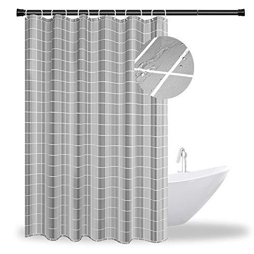 ROOGELD Badezimmer-Duschvorhänge,Dick & Wasserdicht Badezimmer-Duschvorhang,Waschbar Badvorhänge Schnell Trocknend & Bequem, 180 cm x200cm.