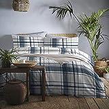 Appletree DOT Garden Mikrowellen-Drehteller, Cotone, Marina Militare, King, W230cm x L220cm (Duvet Cover), W50cm x L75cm (Pillow Case)