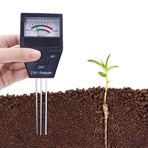 Fantastic Prices! Douup 2 in 1 Soil pH & Fertility Analyzer, Soil Test Kit for pH, Soil Testing Kit ...