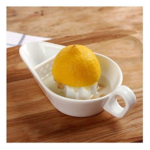 Citrus Squeeze Exprimidor Manual con colador para cocina limón frutas
