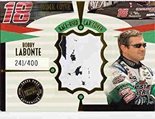 BOBBY LABONTE 2002 Press Pass Eclipse Under Cover Cars Race-Used Car Cover /400