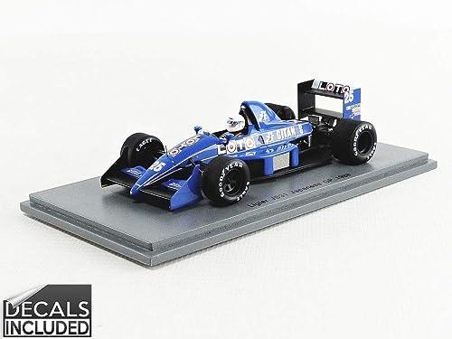 muchas concesiones SPARK S3968 - Coche en Miniatura de colección, colección, colección, Color azul y blanco  seguro de calidad