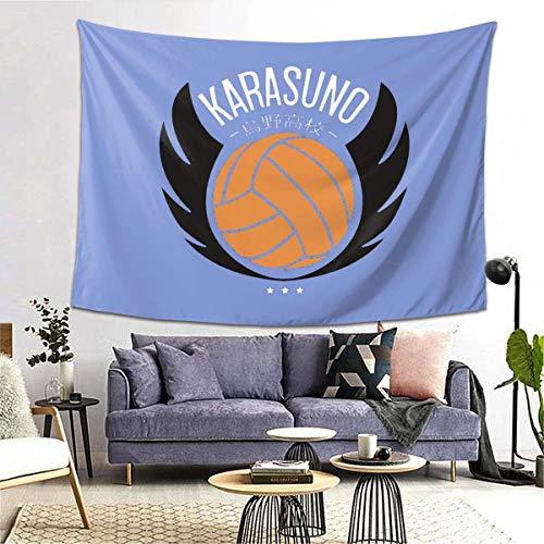 Karasuno Haikyuu Tapestry Novelty Wall Hanging Home Decor Tablecloth Blanket Picnic Beach Mat Carpet Sofa Cover Poster 60*40 inch